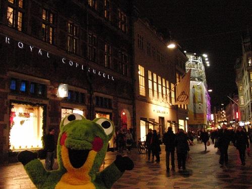 コペンハーゲンのストロイエ