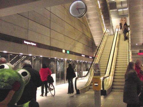 コペンハーゲン地下鉄駅