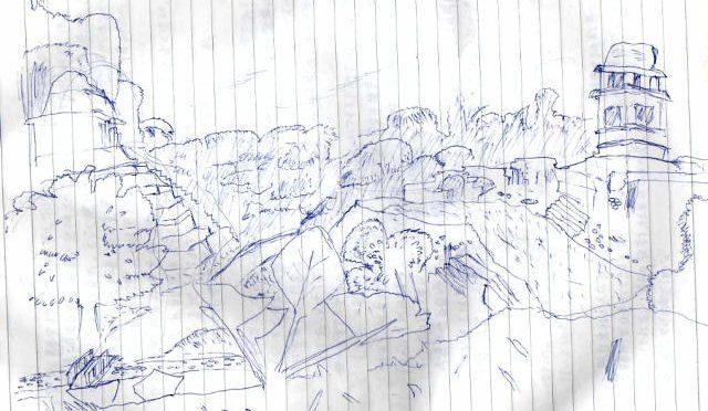 メキシコ旅行4 パレンケ遺跡でカメラが壊れて