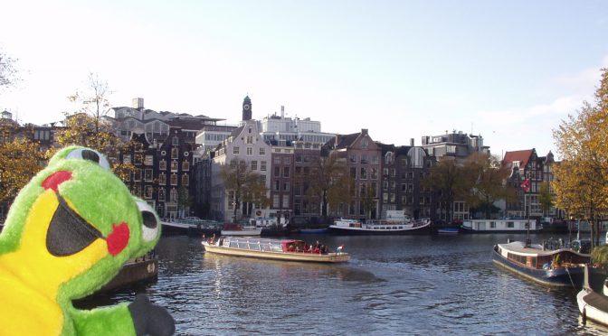 オランダ・ベルギー旅行1 オランダのコーヒーショップ